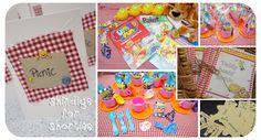 Teddy bear picnic 3rd birthday party