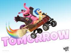 TOMORROW bring home Inside Out on Blu-ray, Digital HD & Disney Movies Anywhere and watch it with your family again, and again, and again! Disney Stuff, Disney Movies, Disney Characters, Disney Parks, Disney Pixar, Bing Bong, Walt Disney Animation Studios, Heart For Kids, Inside Out