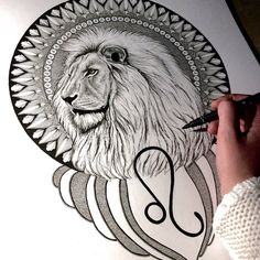 """I think I may have took it a little too far with small detail  but oh well it's all learning! This Leo Lion is finished  #leo #lion #leolion…"""