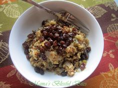 Heritage Rice Blend with Raisins and Honey