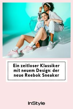 """Markante Plateau-Sohle und geometrisches Design – Reebok punktet in Sachen Modetrends mit dem neuem Design-Sneaker """"Club C Double Geo""""! #instyle #instylegermany #sneaker #schuhtrend #reebok Plateau Sneaker, Cooler Look, Sneakers, Movie Posters, Movies, Design, New Fashion Trends, Styling Tips, Sporty"""