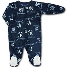 New York Baby Clothing Yankee Sleeper