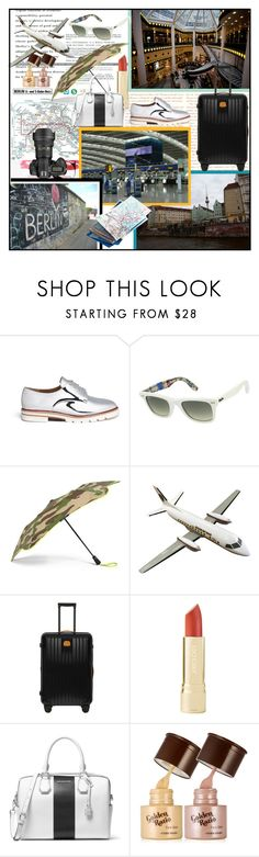 """Park & Go - Recente viaggio a Berlino Germania"" by din-sesantadue ❤ liked on Polyvore featuring interior, interiors, interior design, home, home decor, interior decorating, MAC Cosmetics, Stuart Weitzman, Ray-Ban and Blunt"