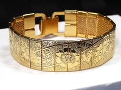 Vintage SARAH COVENTRY Bracelet Engraved by SellitAgainVintage, $25.00