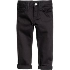 Slim Jeans $9.99 ($9.99) via Polyvore featuring jeans, slim-fit denim jeans, slim cut jeans, slim jeans, elastic waistband jeans and zipper jeans