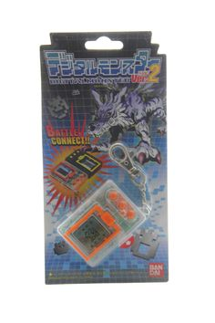 Tamagotchi Digital-Monster (Digimon) Digivice Blanc - Orange / Clear white - Orange