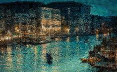 'Venice, Italy', a photo tile mosaic at TileArray