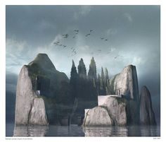 Conceptual art by Raphael Lacoste.