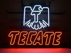 nice New Cerveza Tecate Real Glass Neon Light Sign Home Beer Bar Pub Recreation Room Game Room Windows Garage Wall Sign L68