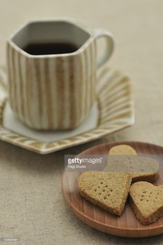 Stock Photo : coffee and cookies