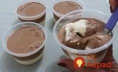 Výborný dezert pre malých i veľkých maškrtníkov. Crepes, Food And Drink, Ice Cream, Pudding, Sweets, Candy, Cooking, Desserts, Pizza