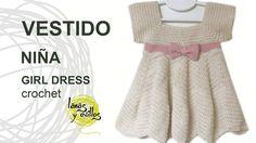 Tutorial Vestido Crochet o Ganchillo Niña ZigZag