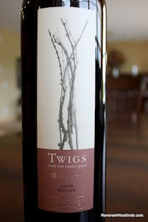The Reverse Wine Snob: Twigs Reserva Malbec 2008 - Deliciously Correct. $15 http://www.reversewinesnob.com/2012/07/twigs-reserva-malbec-2008-deliciously.html