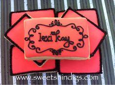 Sweet Shindigs: Cookies - Sugar Cookies personalized logo