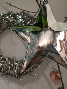 Unique Christmas decoration and gift. Copper, Silver, personalised, beautiful, occasions. #handmade #star #copper #copperstar #decor #home