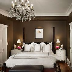 """chocolate Brown Bedroom Design, Pictures, Remodel, Decor and Ideas"