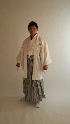 凛々しい男の子の紋付き袴姿も前撮り致します♪
