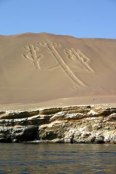 Nazca lines known as the Candelabra / Paracas // Peru /// I soooo want to see this from the sky!
