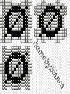 Skabeloner til hama bogstavklodser ~ Home by Bianca Hama Beads, Hygge, Cubes, Blog, Kawaii Drawings, Hama Bead, Fuse Beads