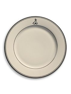 "Pendelton 10"" dinner plate, it's all in the details and this is the perfect addition to a table setting."