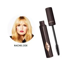 "Charlotte Tilbury Full Fat Lashes - ""Charlotte Tilbury's mascara is my latest obsession! The texture is like velvet and it lengthens and thickens, which I love. Charlotte is one of the best at creating the ultimate dramatic eye so it's fitting that her mascara would be so MAJ!"""