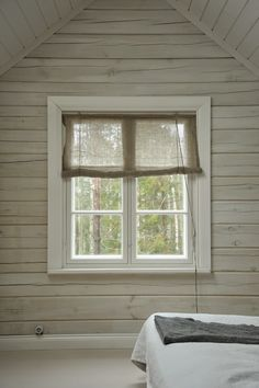 hoping to find one of the affordable kusvalilaistyyliset linen curtains Stairs And Doors, Wooden Stairs, Kitchen Stove, Attic Rooms, Window Dressings, Linen Curtains, Hanging Pictures, Beautiful Homes, Sweet Home