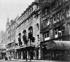 Behrenstraße 48.. Cafe und Tanzpalast Kerkau.. Haus Friedrichstraße 82 aka Schultheiss Brauerei.. Kaisergerie aka Panopticum aka Passage Theater