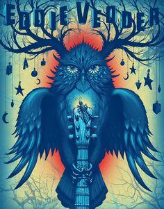 """""""Eddie Vedder"""" par Jeff Soto"""