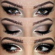 Neutral Makeup by Mel S. Doesn't she have the most beautiful eyes? And her makeup is flawless. So talented...