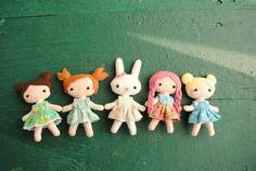 felt doll patterns | Tumblr