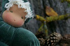 Knecht Ruprecht - OOAK Waldorf Dolls - Handgefertigte Stoffpuppen nach Art der Waldorfpuppe: For Mathilda