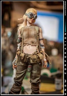 Apocalyptic Clothing, Post Apocalyptic, Character Concept, Character Design, Military Inspired Fashion, Military Figures, Polymer Clay Dolls, Miniature Figurines, Cyberpunk Art