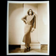 Joan Crawford, robe d'Adrian pour Grand Hotel