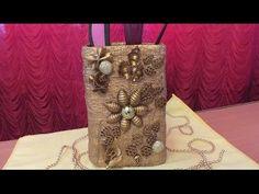 Видео мастер-класс: ваза-подставка из бинта и макарон - Ярмарка Мастеров - ручная работа, handmade