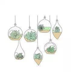 "Search Result for ""bullet journal dessin plante"" - Doodle Drawings, Doodle Art, Doodle Lettering, Hand Lettering, Hanging Succulents, Hanging Plants, Plants Indoor, Outdoor Plants, Hanging Baskets"