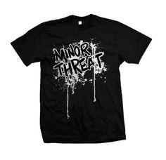 Minor Threat Drip Logo T-Shirt