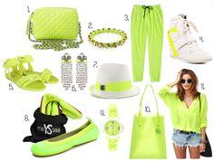 Neon Green!! Love it
