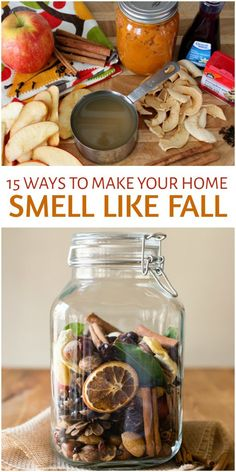 Fall is in the air already and that means many of my favorite scents are too I love the smells of burning firewood from peoples fireplaces warm cinnamon apple and pumpkin. Fall Potpourri, Homemade Potpourri, Simmering Potpourri, Potpourri Recipes, Stove Top Potpourri, Fall Home Decor, Autumn Home, Autumn Fall, Fall Yard Decor