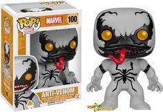 Anti-Venom Marvel Funko Pop Bobble-Head Vinyl Figure for sale online Funko Pop Marvel, Venom Funko Pop, Funko Spiderman, Spiderman Pop, Pop Vinyl Figures, Anti Venom Marvel, Venom Figure, Deadpool, Funko Pop Dolls