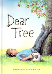 Dear Tree   Author: Doba Weber  Illustrator: Phyllis Saroff   On the Jewish New Year of the Trees (Tu B'Shevat), a little boy shares his hopes and wishes for trees-and especially for the one under which he plays.