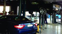 Tubo de escape y silenciador de Maserati Gran Turismo y Ford Mustang 66