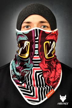 Bandana Wolface: Chillout Bandana for riders Bandana Wolface is dedicated to snowboarders, skiers, cyclists, motorcyclists. More info: www.shop.wolface.eu www.wolface.eu