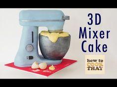 AMAZING 3D SPIDERMAN CAKE How To Cook That Ann Reardon fondant birthday cake - YouTube