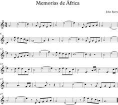 Memorias de África. Banda Sonora