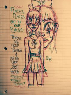 ★Turning lyrics into art★ Lovely song by Melanie Martinez: Dollhouse (Working on my sharpie style, hope it looks good to all of you! ^3^) @artistlovenvr