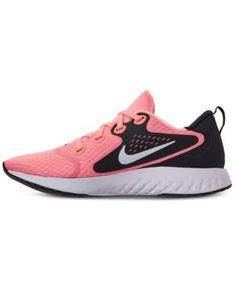4b5a3b36771de9 Nike Women s Legend React Running Sneakers from Finish Line - Pink 7.5  Running Sneakers