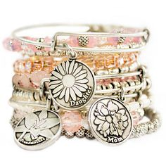 Beautiful Stack Of Alexandani Bracelets Bangles Alex And Annie