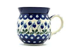 Polish Pottery 15 Oz. Bubble Mug Bleeding Heart Pattern Ceramika Artystyczna http://www.amazon.com/dp/B00MRZB8P2/ref=cm_sw_r_pi_dp_g6iXub0AKMEQR