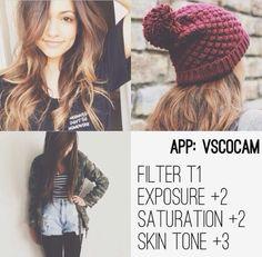 VSCO Cam Filter <3