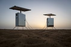 Desert Twins, making water out of thin air!!  Ap Verheggen – SunGlacier